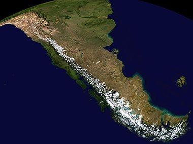 Argentine carte 3d