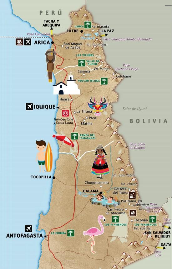 Grand nord Chili