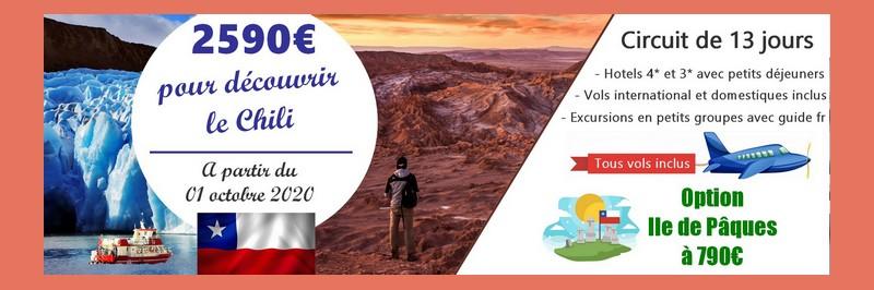 Promotion voyage Chili