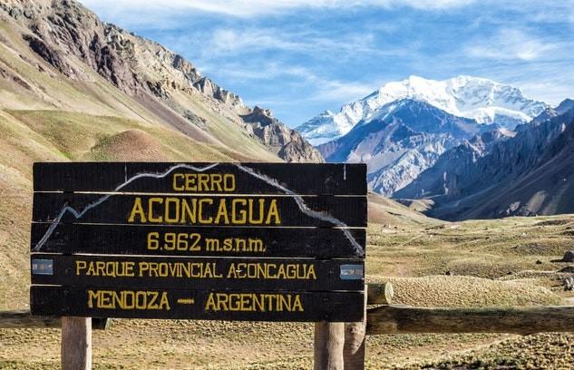 Montagne Aconcagua Argentine