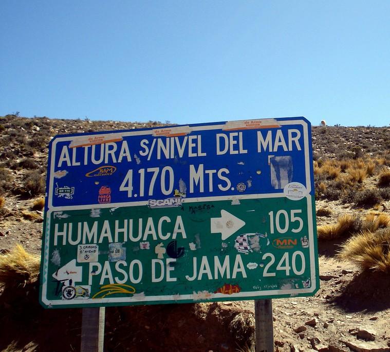 Chili voyage altitude
