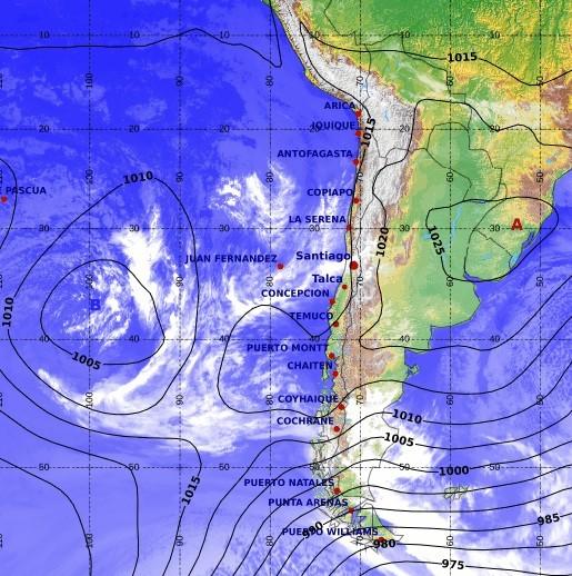 Chili voyage climat