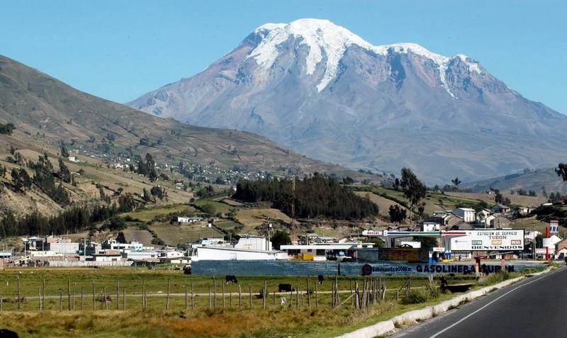 Montagne Chimborazo Equateur