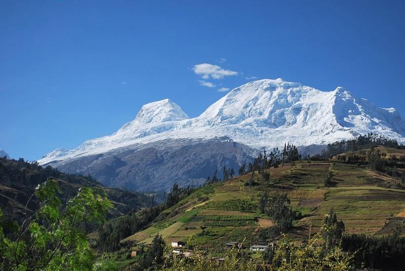 Montagne Huscaran Pérou