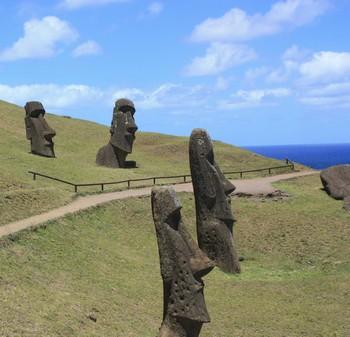 Moai de l'Ile de Pâques