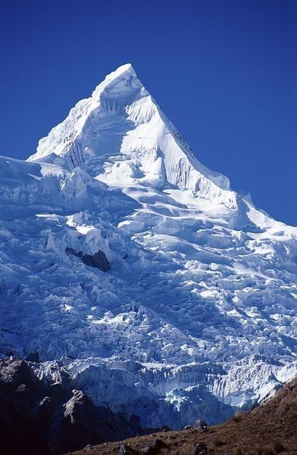 Montagne Alpamayo Pérou