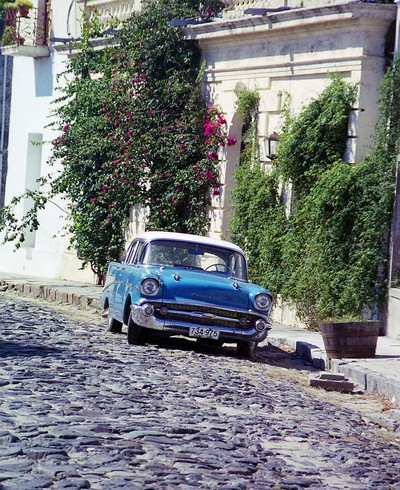 Rue typique de Colonia