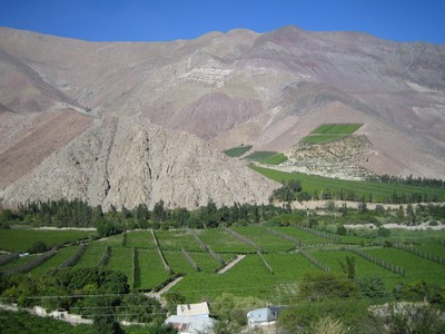 Valle de Elqui au Chili